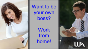 Want to be your own boss